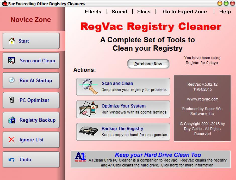 Download regvac registry cleaner 5. 02. 14 (x64 & x32).