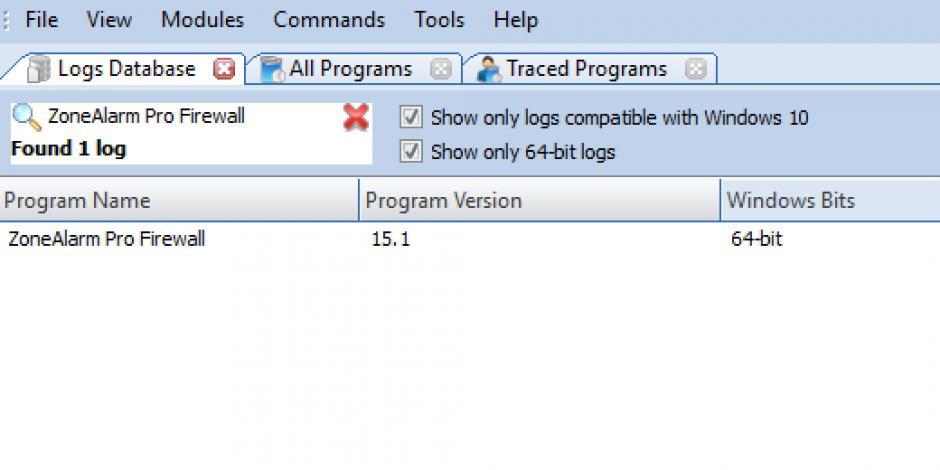 zonealarm 64 bit windows 10
