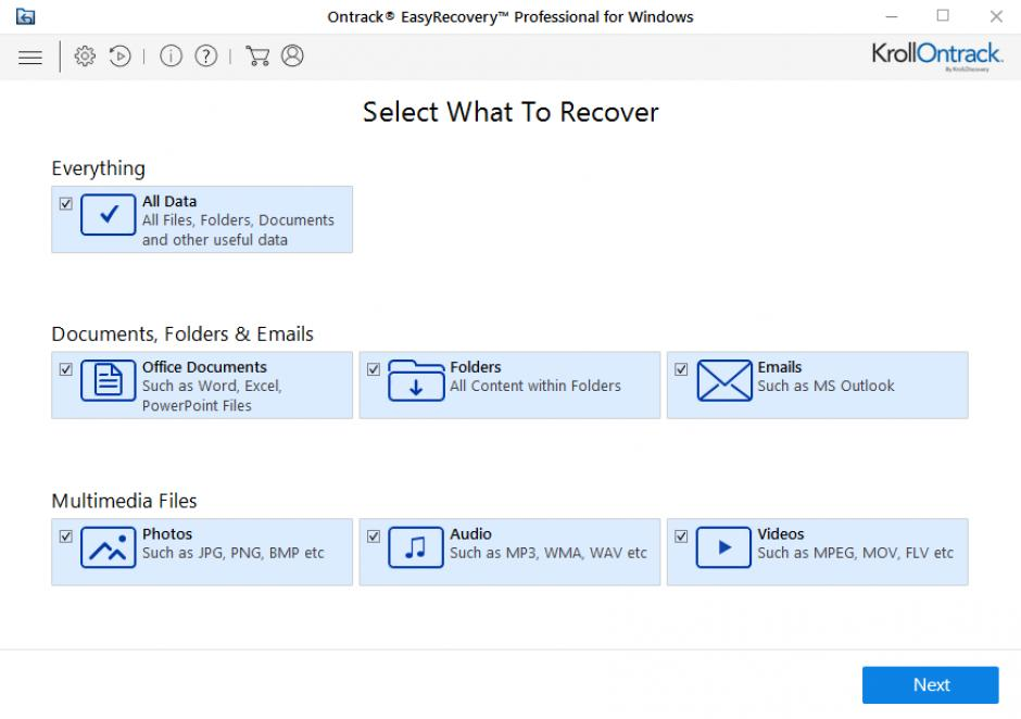 Resultado de imagen de Ontrack EasyRecovery Photo for Windows Professional