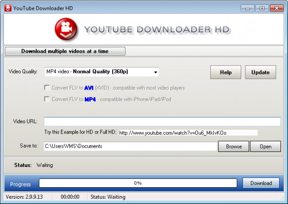 Download youtube downloader hd 2. 9. 9. 30 for pc free.