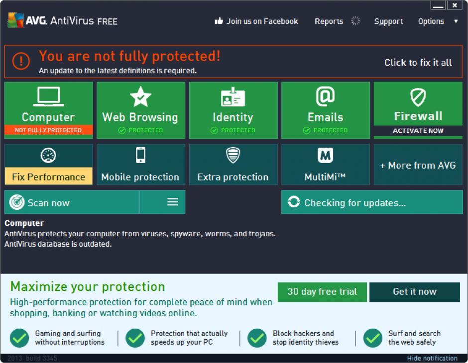 uninstall avg antivirus 2015