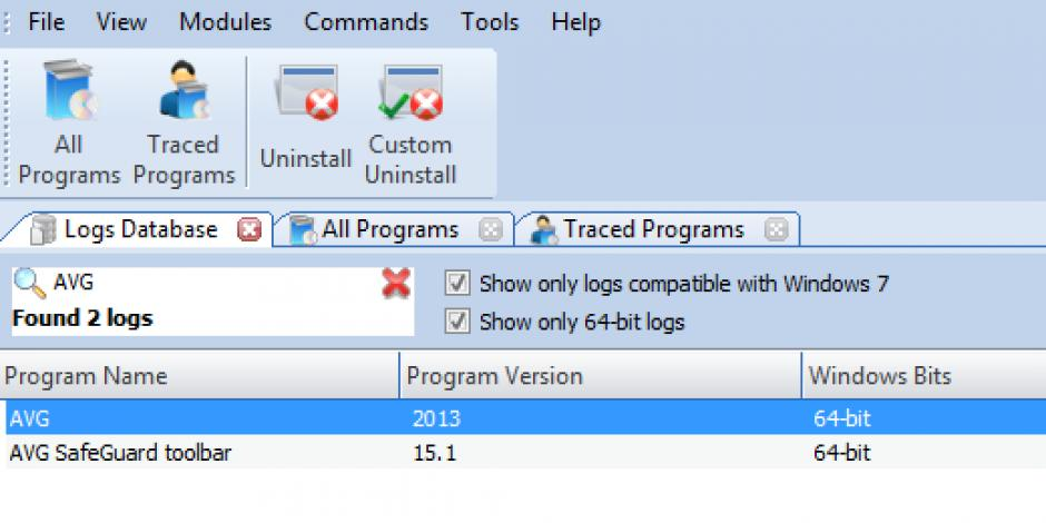 Revo uninstaller pro uninstall avg antivirus 2013 free using.
