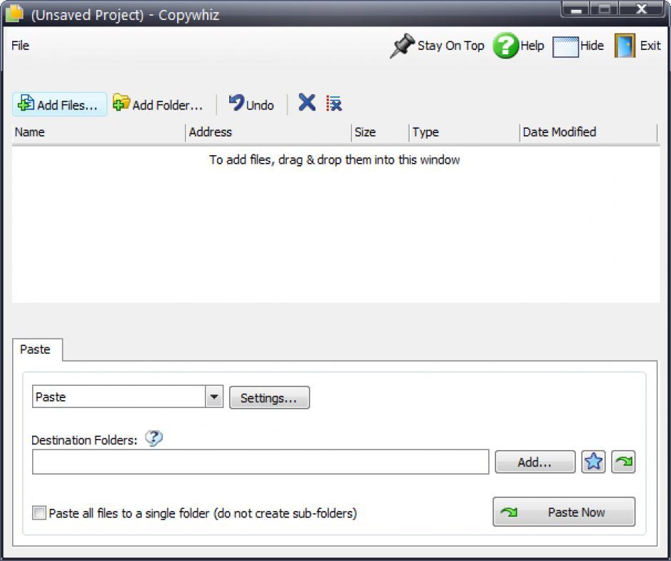 Revo Uninstaller Pro - Uninstall Copywhiz using Logs Database