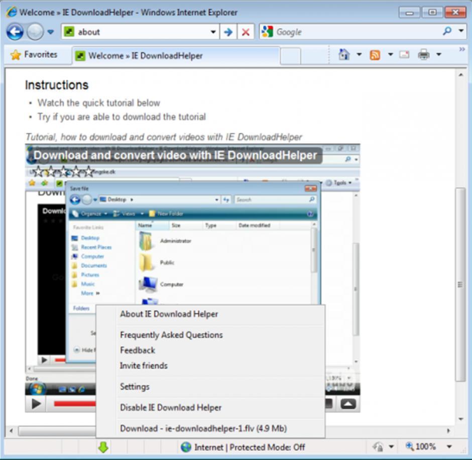 How to uninstall download helper
