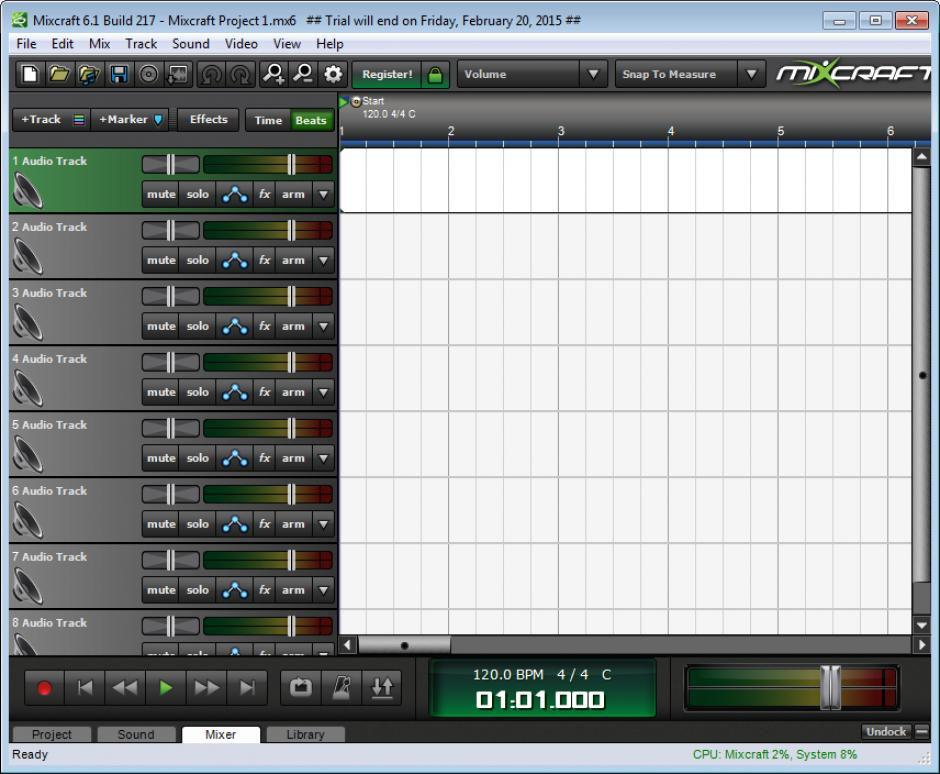 mixcraft free trial download