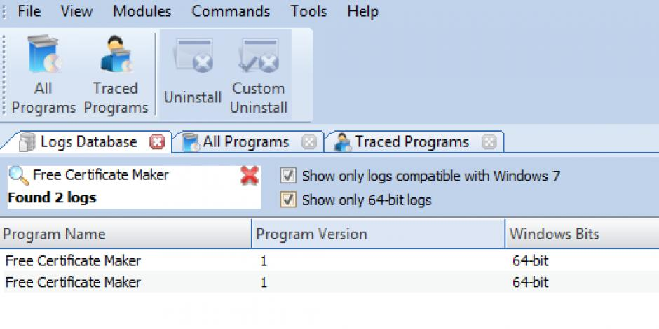 revo uninstaller pro uninstall free certificate maker using logs