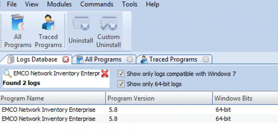revo uninstaller pro uninstall emco network inventory enterprise