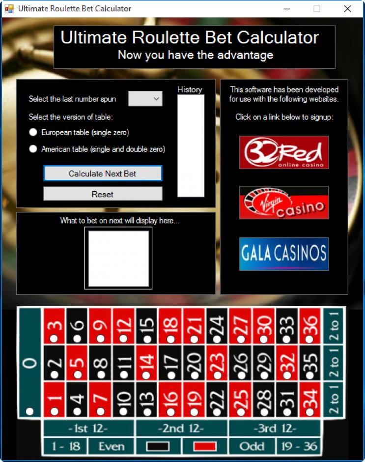 How to calculate roulette bets jackpot party slot machines for sale