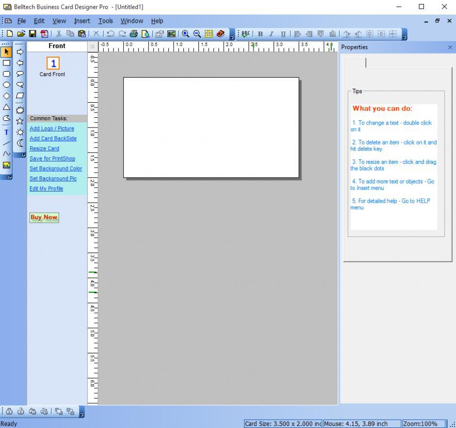 Revo Uninstaller Pro - Uninstall Belltech Business Card Designer Pro ...