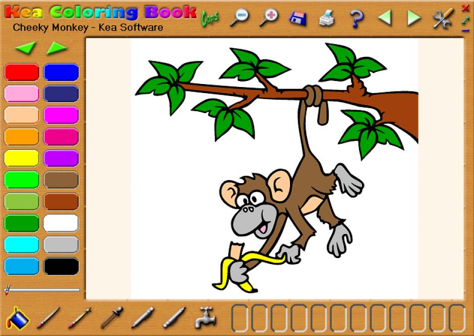 Revo Uninstaller Pro Uninstall Kea Coloring Book using Logs Database
