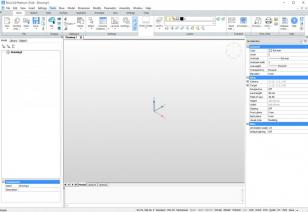 BricsCAD main screen