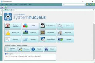 System Nucleus main screen