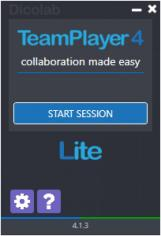 TeamPlayer 4 LITE main screen