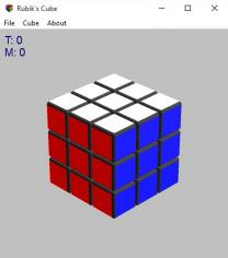 Rubix main screen