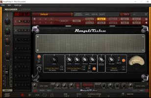 AmpliTube main screen