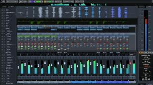 Cubase main screen