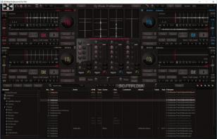 DJ Mixer Professional main screen
