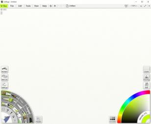 ArtRage main screen