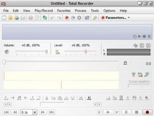 Total Recorder Pro main screen