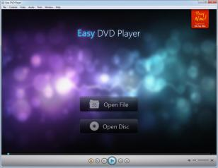 Easy DVD Player main screen