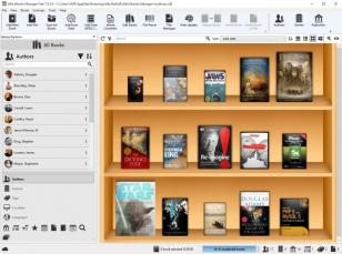Alfa eBooks Manager main screen