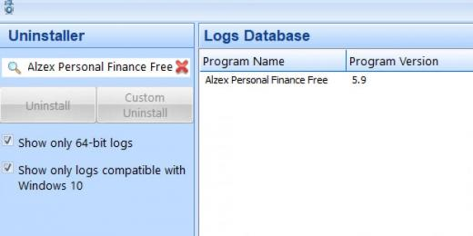 Find Alzex Personal Finance Free in Logs Database List