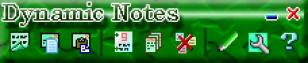 Dynamic Notes main screen
