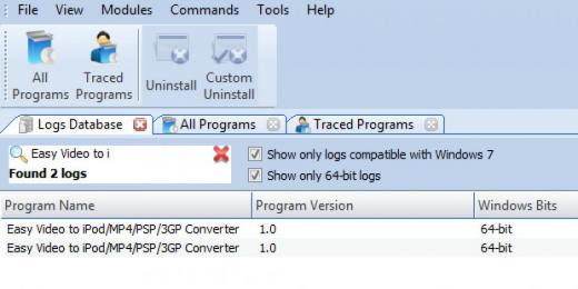 Find Easy Video to iPod MP4 PSP 3GP Converter in Logs Database List