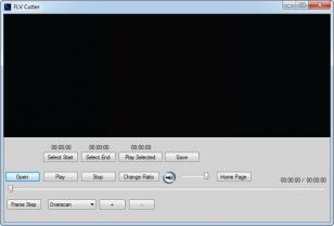 FLV Cutter main screen