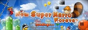 New Super Mario Forever 2012 main screen