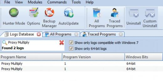 Find Proxy Multiply in Logs Database List