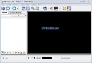 DVB Dream main screen