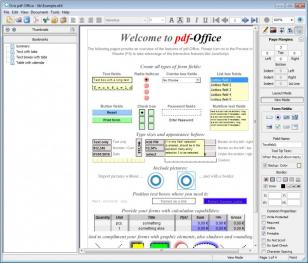 Ovis pdf Office main screen