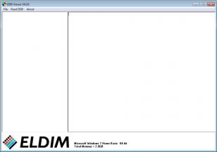 EDID Viewer main screen