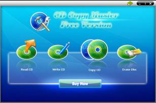 CD Copy Master main screen