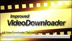 Improved Video Downloader main screen