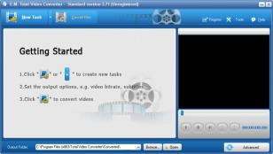 Total Video Converter main screen