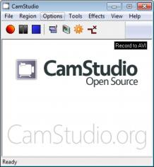 CamStudio main screen