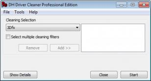 Driver Cleaner Pro main screen