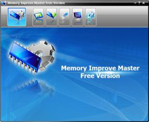 Memory Improve Master main screen