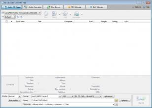 EZ CD Audio Converter main screen