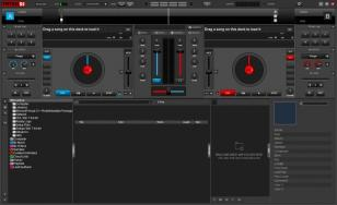 Virtual DJ main screen