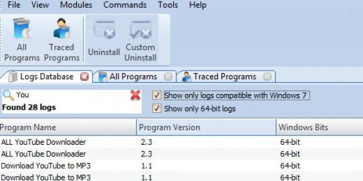 Find You've Got Mail in Logs Database List