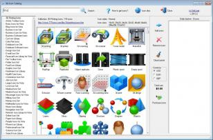 Sib Icon Catalog main screen