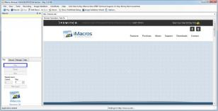 iMacros main screen