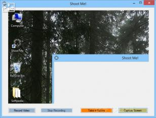 Shoot Me main screen