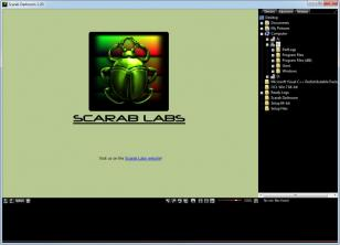 Scarab Darkroom main screen