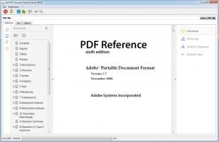 PDF Structure Viewer main screen