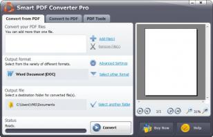 Smart PDF Converter Pro main screen