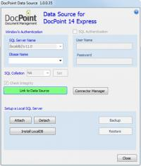 DocPoint Express main screen